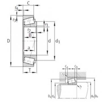 FAG 32240-A tapered roller bearings