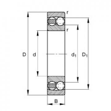 FAG 2202-TVH self aligning ball bearings