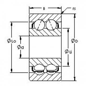 AST 5219 angular contact ball bearings