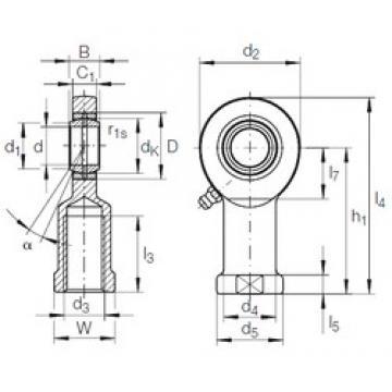INA GIR 17 DO plain bearings