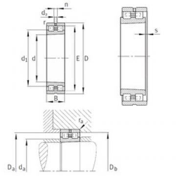 INA NN3030-AS-K-M-SP cylindrical roller bearings