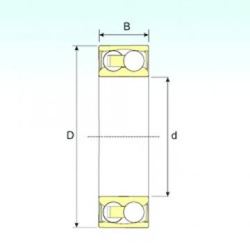 ISB 2208-2RSTN9 self aligning ball bearings