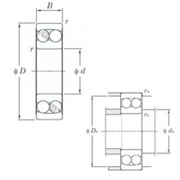 KOYO 1318 self aligning ball bearings
