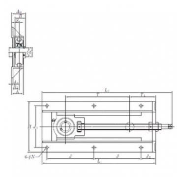 KOYO UCTH209-27-300 bearing units