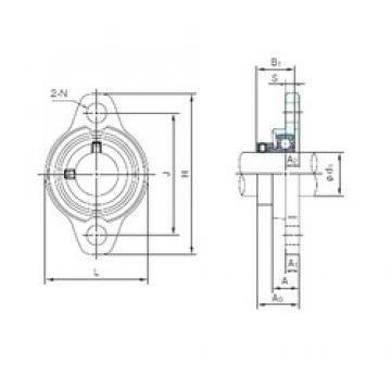 NACHI UFL003 bearing units