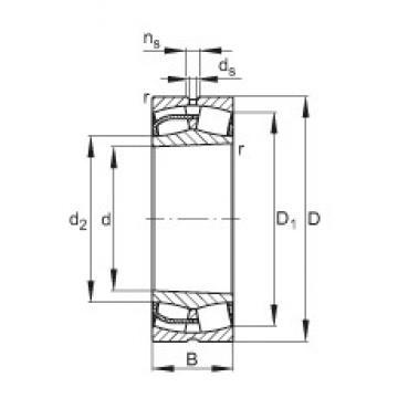 FAG 24052-E1-K30 spherical roller bearings