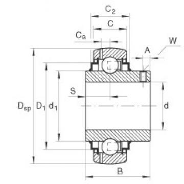 INA GYE35-KRR-B deep groove ball bearings