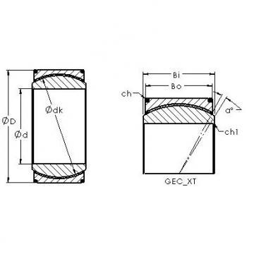 AST GEH140XT plain bearings