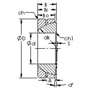 AST GAC170S plain bearings