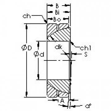 AST GAC95S plain bearings