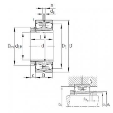 FAG 23048-K-MB spherical roller bearings