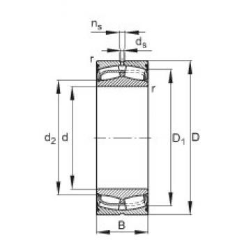 FAG 24126-E1-2VSR spherical roller bearings