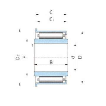 INA F-86148.1 needle roller bearings