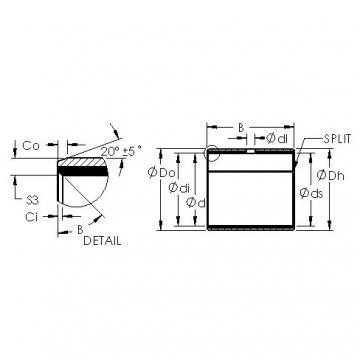 AST AST11 6550 plain bearings
