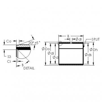 AST AST50 24IB08 plain bearings