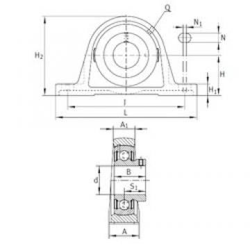 INA PAKY1 bearing units