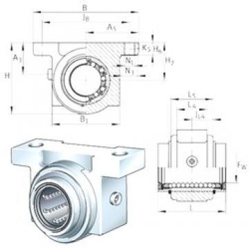INA KGB30-PP-AS bearing units