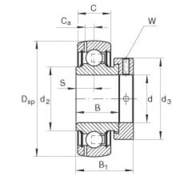 INA GRAE40-NPP-B deep groove ball bearings