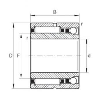 INA NKIA5912 complex bearings