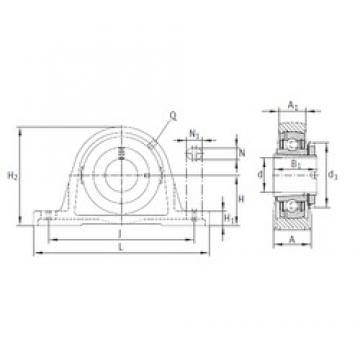 INA RASEA40-N bearing units