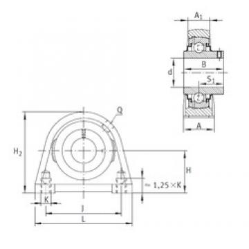 INA RSHEY20-N bearing units