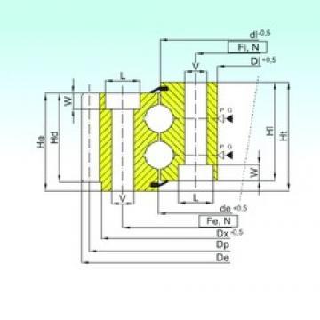 ISB EB2.28.1117.400-1SPPN thrust ball bearings