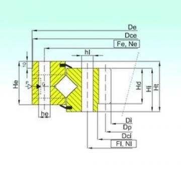 ISB ZR1.45.1606.400-1SPPN thrust roller bearings