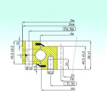ISB ZB1.20.0544.201-2SPTN thrust ball bearings
