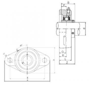 ISO UCFL210 bearing units