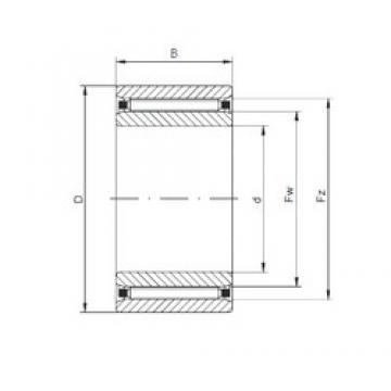 ISO NAO30x47x18 cylindrical roller bearings