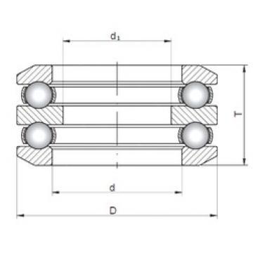 ISO 54407 thrust ball bearings