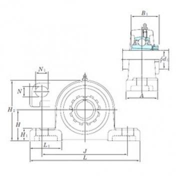KOYO UKP215SC bearing units