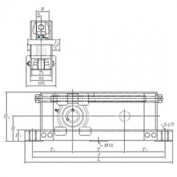 KOYO UCTU317-700 bearing units