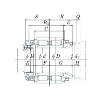 KOYO JB1356 cylindrical roller bearings