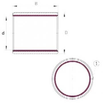 INA EGB2030-E40-B plain bearings