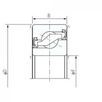 NACHI 17TAB04-2NK thrust ball bearings
