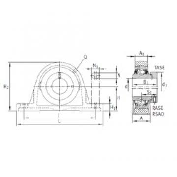 INA RASE35-FA164 bearing units