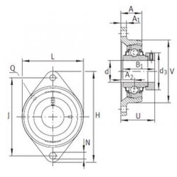 INA RCJT50-N bearing units