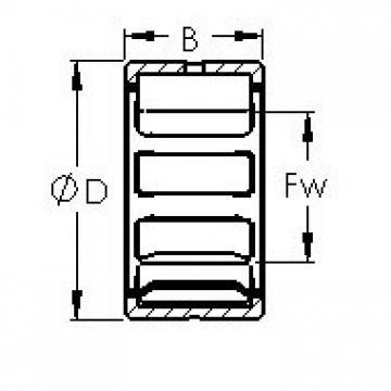 AST NK18/20 needle roller bearings