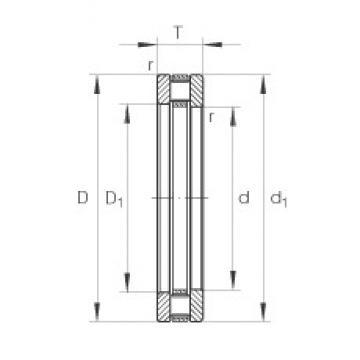 INA 81124-TV thrust roller bearings