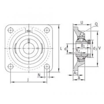 INA RCJ100 bearing units