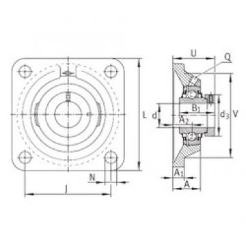 INA RCJ60-N bearing units