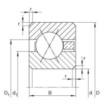 INA CSXF055 deep groove ball bearings