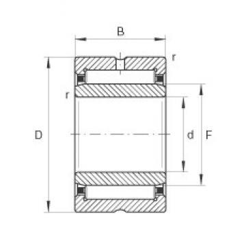 INA NA49/22 needle roller bearings