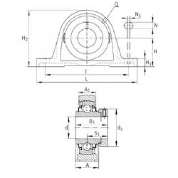 INA RASE7/8 bearing units
