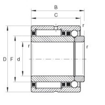 INA NKIB59/22 complex bearings