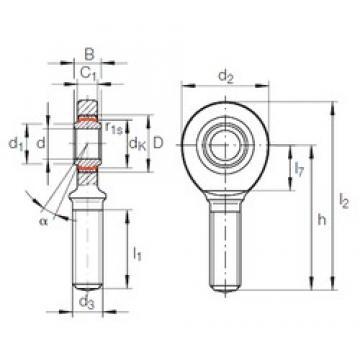 INA GAR 10 UK plain bearings