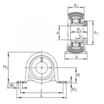 INA RPB20 bearing units