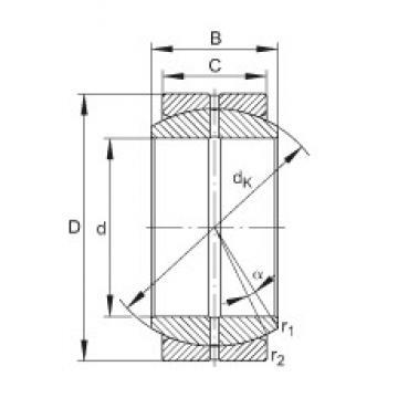 INA GE50-DO plain bearings