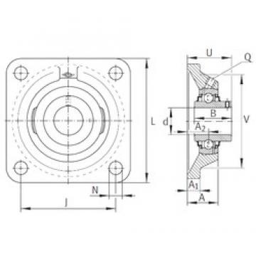 INA RCJY1-1/2 bearing units
